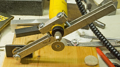 High Speed drill, grinder (tudedude) Tags: uk bench saw mechanical diamond workshop cutting blade highspeed workbench hardened sharpening modeller swiveling modelengineering tudedude