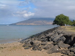 MAUI-BEACH AND LAVA ROCKS (SnapShotStar) Tags: ocean sunset sea island scenery maui kihei sunseaandsand 10millionphotos