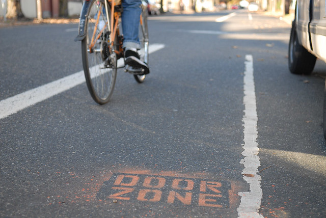 door zone warning stencil-10