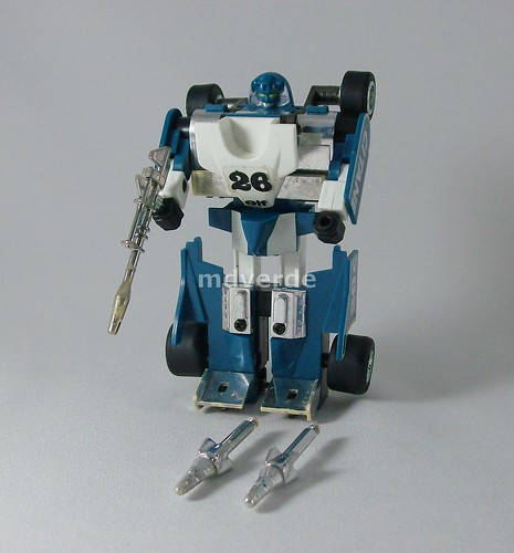 Transformers Mirage G1 - modo robot (by mdverde)