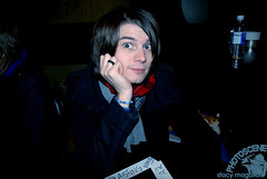 William Beckett (stacymagallon) Tags: newyorkcity tai roselandballroom thebutcher theacademyis meetandgreet williambeckett mikecarden adamsiska sisky andymrotek michaelguychislett billandtravsbogusjourneytour november192008