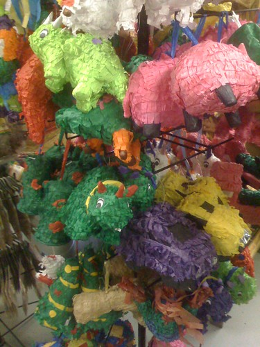 Lil flock of sleeping piñatas
