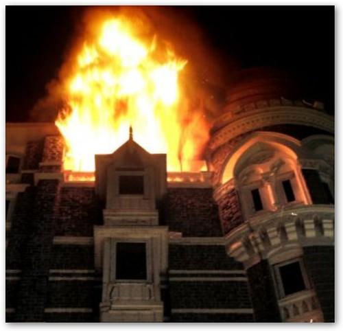 Taj Mahal Hotel Fire