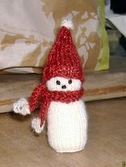 Snowman Ornament (complete)