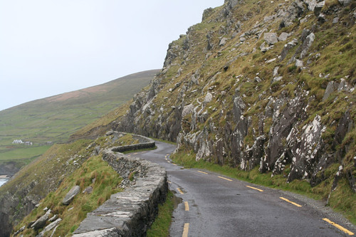 a two way road in Ireland