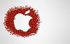 apples, apples (Pixel Fantasy) Tags: wallpaper apple fruit logo apples outline