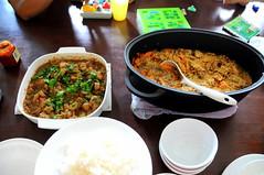 Babi Assam and Beef Stroganoff