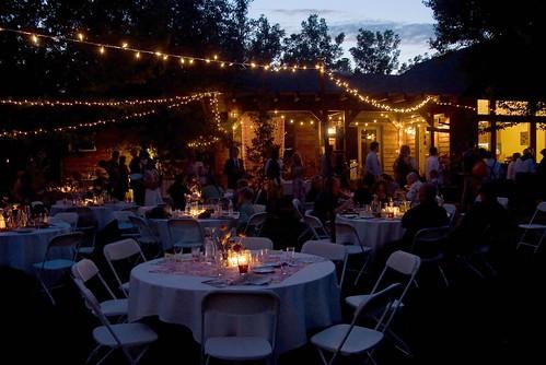 Garden Design With A Backyard Wedding QuampA How Do You Light