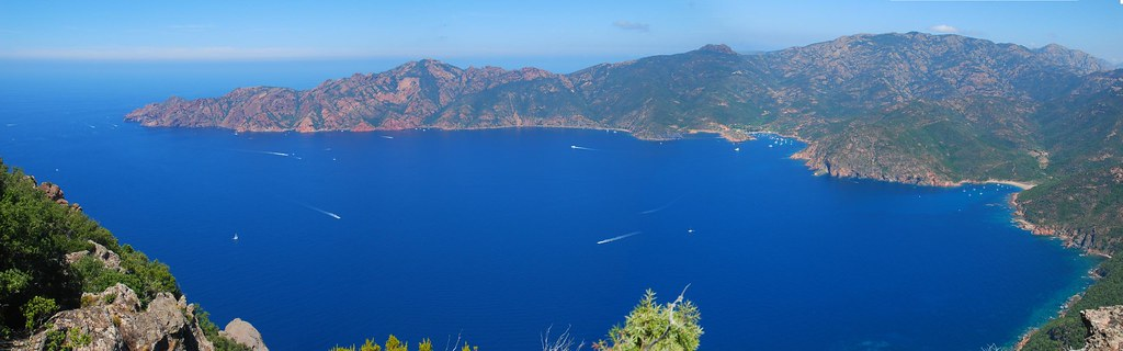 Pano Golfo Girolata