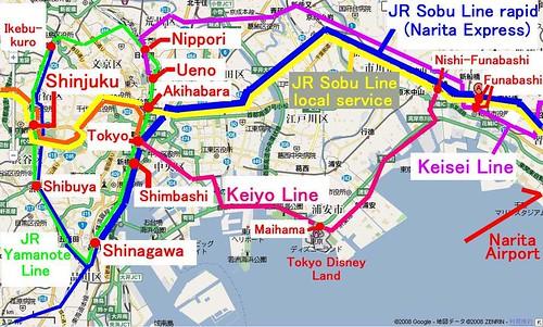 narita access map