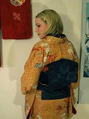 Taisho kimono & mofuku obi