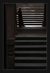 (UrvishJ) Tags: tadka09wk1 adalaj stepwell ancinet history architcture canonphotography canon1000d ahmedabad gujarat lady ladyinred stairs midway climb lost growth life middle red light enlightment space pcasteps sell buy stock stockimage online images pictures stockpicture indianpicture indianphoto stockphoto india amdavad urvish urvishjoshi urvishj urvishjphotography urvishjoshiphotography getty urvishjoshiphotography joshi