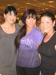margie, mac mistress, me (_melika_) Tags: friends makeup class seminar nordstrom cosmetics southcoastplaza maccosmetics cosmeticscounter
