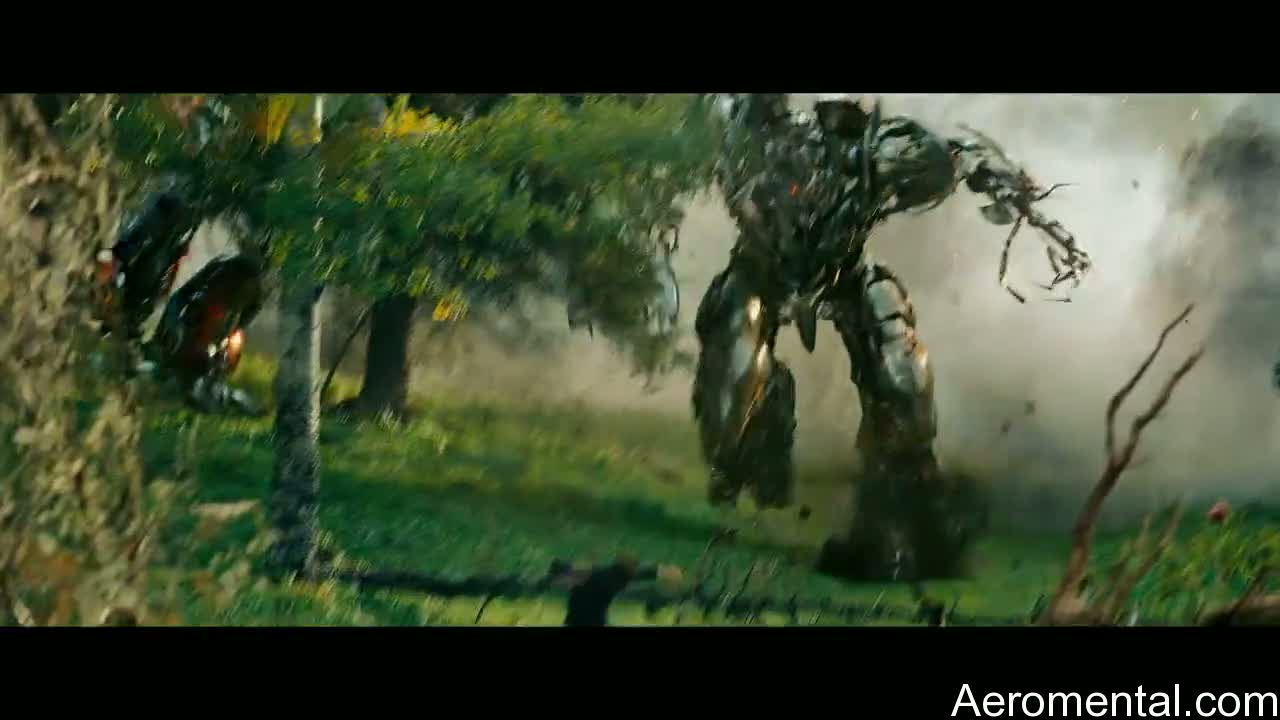 Transformers 2 Megatron bosque
