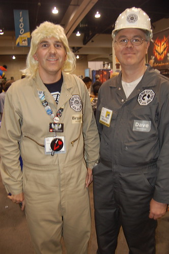 Comic Con 2009: Dharma Initiative Folk