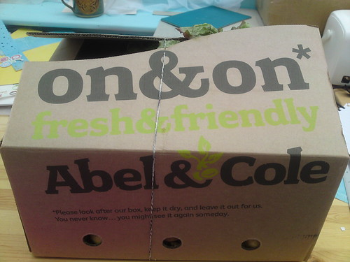 Abel and Cole Box