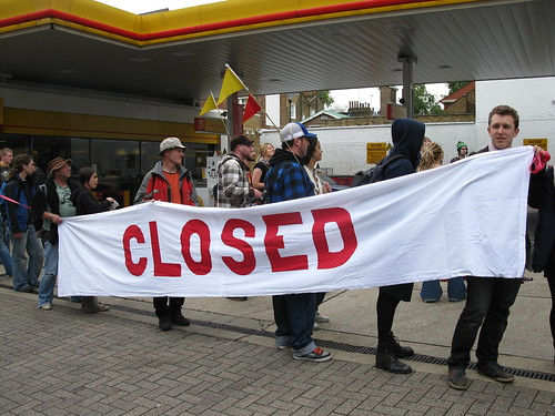 This petrol station is closed!