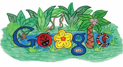 Doodle 4 Google: The Rainforest Habitat Google Logo By Makenzie Melton