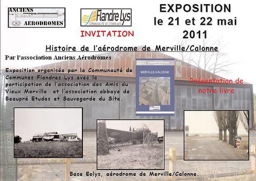 Exposition Histoire de l'aérodrome de Merville-Calonne 5708781017_6f903e2fd4