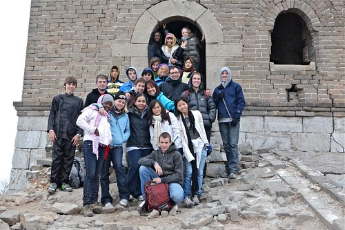 The TGS Gang on the Great Wall