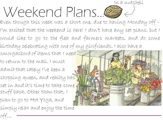 weekend plans 6.3.11