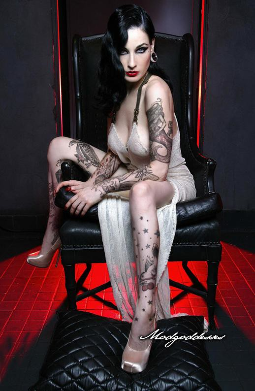 Burlesque tattoos
