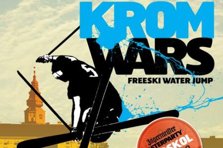 KROM WARS - freeski water jump