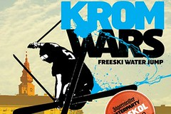 KROM WARS - freeski water jump