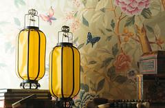 Carrelage aspect papier peint Florilge Novoceram (Novoceram) Tags: chinois papier peint carrelage aspect florilge novoceram