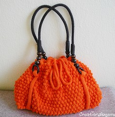 orange bobble bag (10) (creationsbyeve) Tags: summer orange knitting europe handmade crafts bubbles funky greece homemade cotton handcrafted etsy handbag artisan crafting bobbles knitt handmadegifts handcraftedgifts handknitt creationsbyeve etsygreekteam