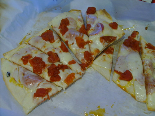"Lavash Cracker ""Pizza"""