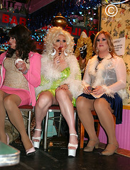 The Judges are NOT impressed... (DawnOne) Tags: gay costumes copyright toronto drag dawn photos country contest queens kings linda idol western 2008 hammond gospel zeldas indyfoto