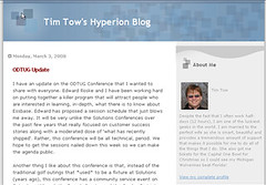 Tim Tow Hyperion Blog