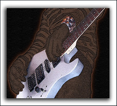 Guitar (skaboy) Tags: metal photoshop cutout guitarra ps pitu aplusphoto skaboy