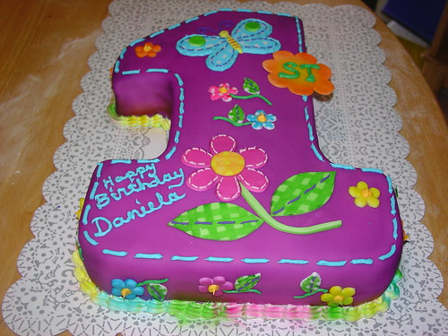 #1 / first birthday cakes (Set) · First birthday- girl (Set)