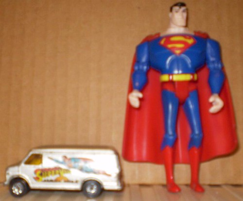Supervan and Superman