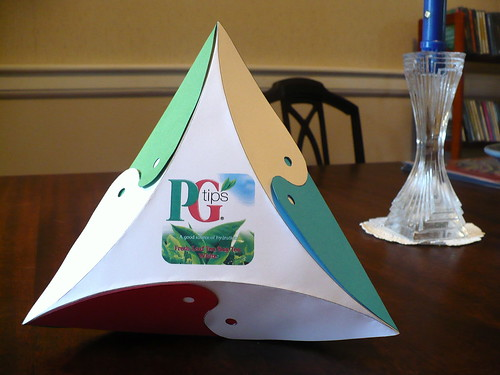 Tetrahedral Teabag Problem Box