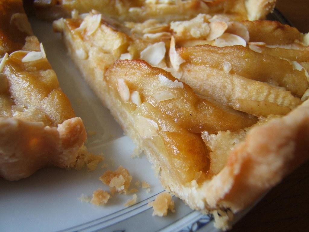 tarte amandine aux pommes p 226 te 224 la casserole