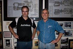 Shaan and Jim at jaylenosgarage.com