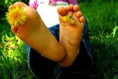 feet and flowers (xx_shape_xx) Tags: flowers feet youth kid child littlegirl ticklish kidfeet childtickle littlegirlfeet