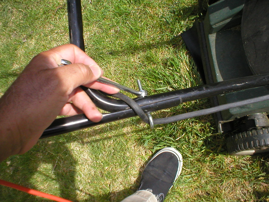 Fix the Lawn Mower Handle
