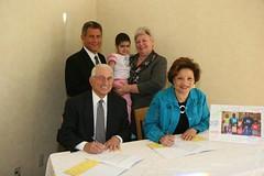 AFCEA Endowment signing pix