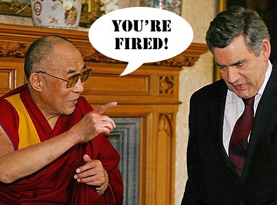 Gordon Brown fired