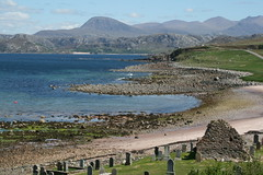 Laide, Scotland (Rowan Castle) Tags: uk sea mountains coast scotland unitedkingdom cemetary laide img2290 coolestphotographers