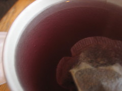 (D245) The tea that looked up at me