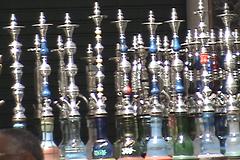 Water pipes cafe II, Tripoli, Libya