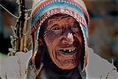 PERU' - Chivay (Massy........!!!) Tags: old travel portrait sun man detail face hat tooth tribal canyon per uomo strong tribe sole viaggi ritratto viso forte colca chivay cappello dettaglio vecchi anziano denti espressione trib berretto peruvianimages