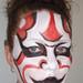 Kabuki inspired face