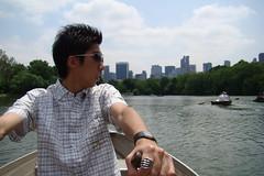 中央公園-划船