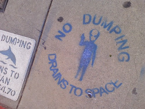 Drains to Space